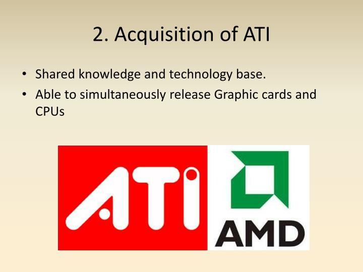 2. Acquisition of ATI