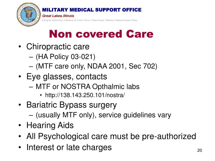 Non covered Care