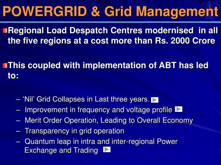 POWERGRID & Grid Management