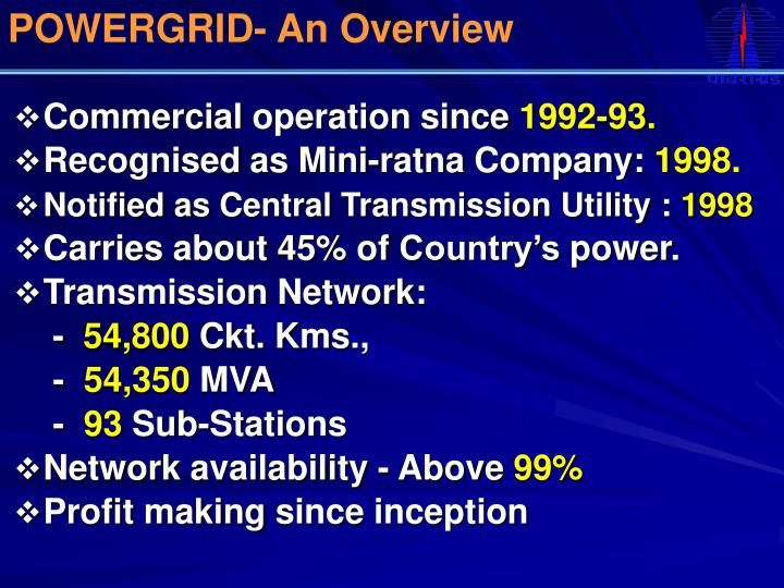POWERGRID- An Overview