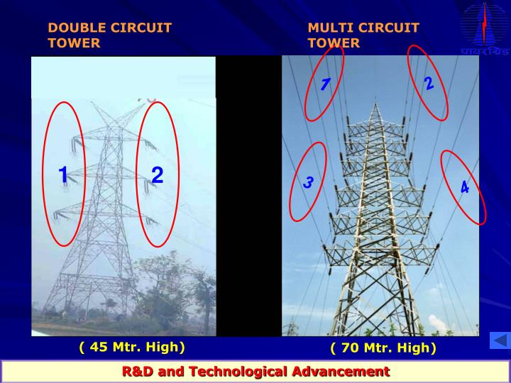 DOUBLE CIRCUIT TOWER