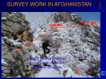 survey work in afghanistan1