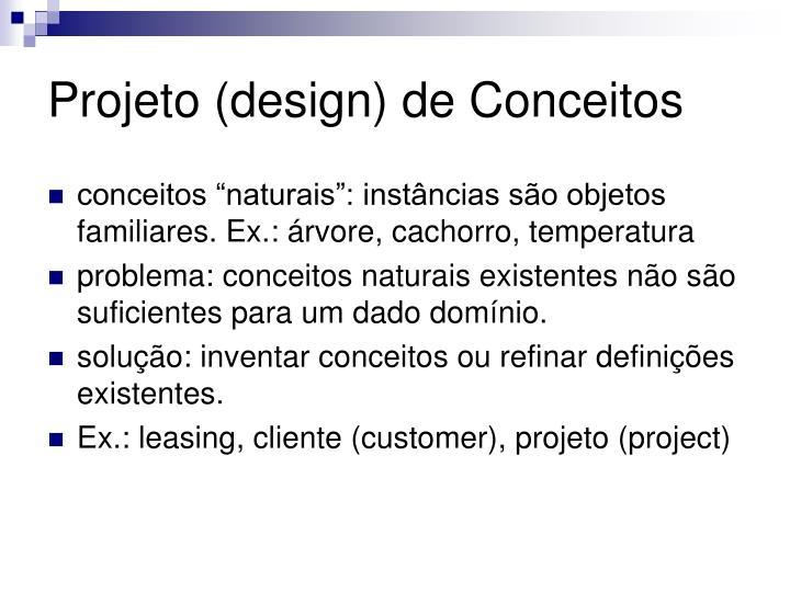 Projeto (design) de Conceitos