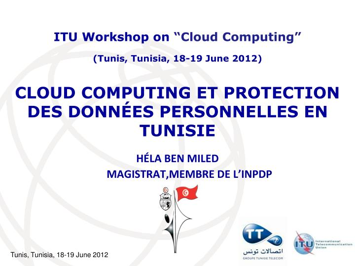 cloud computing et protection des donn es personnelles en tunisie
