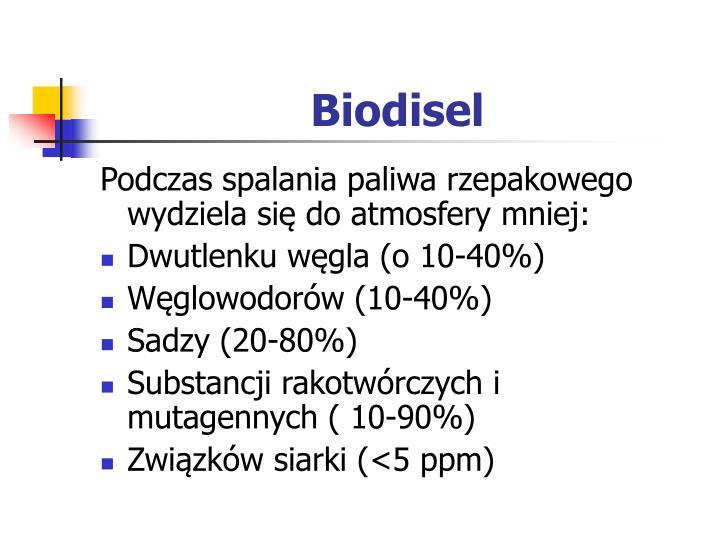 Biodisel