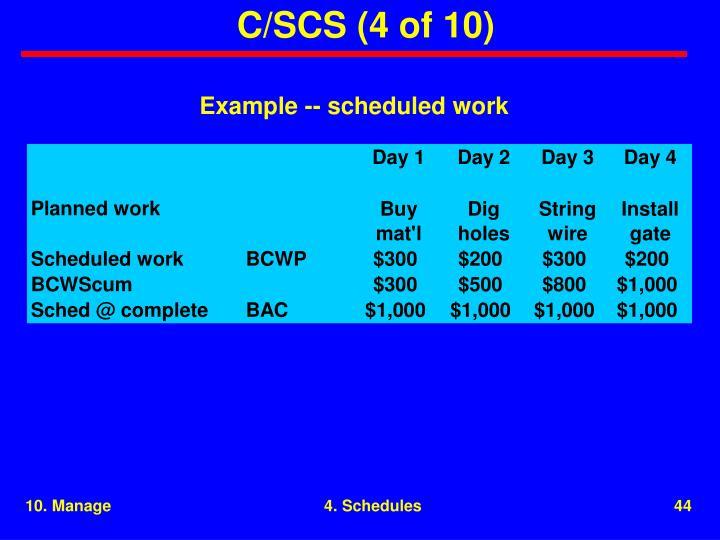 C/SCS (4 of 10)