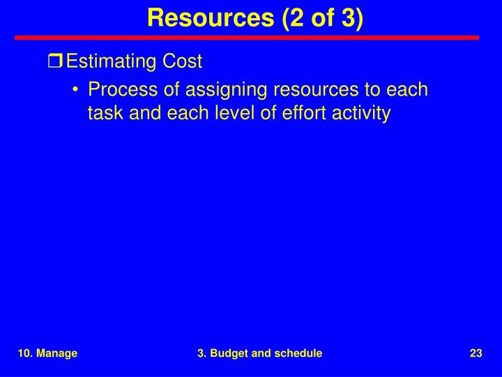 Resources (2 of 3)