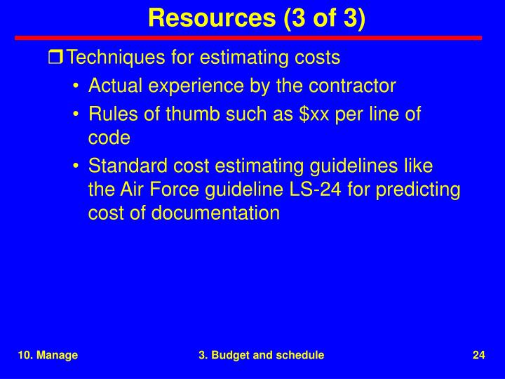 Resources (3 of 3)