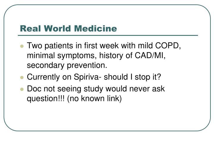 Real World Medicine