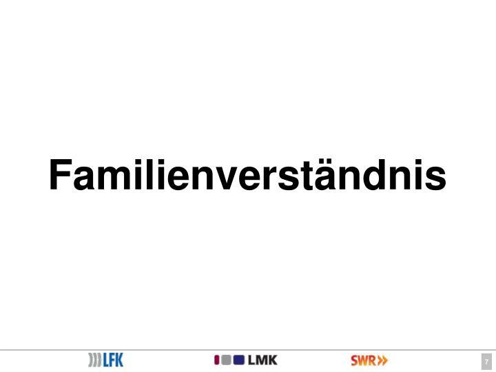 Familienverständnis