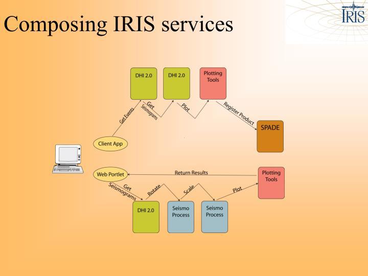 Composing IRIS services