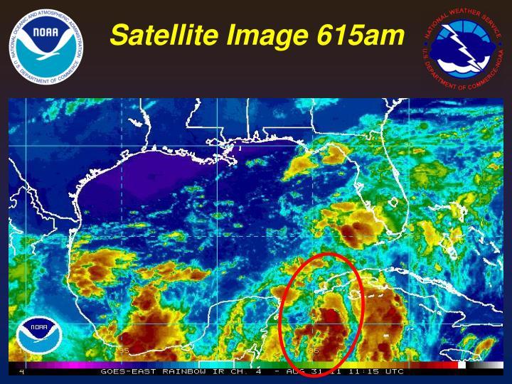 Satellite Image 615am