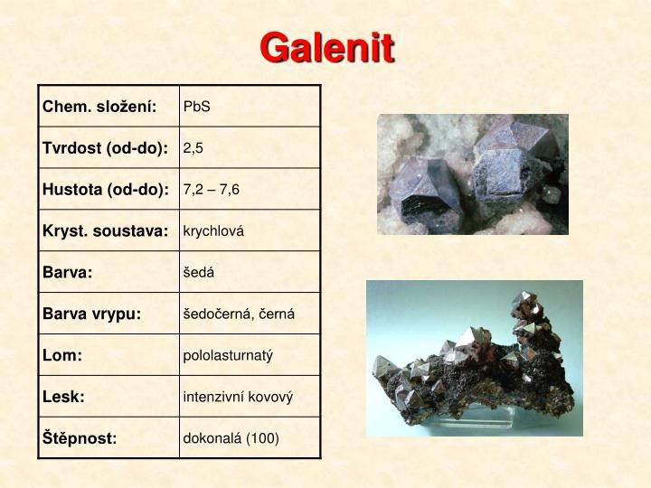 Galenit