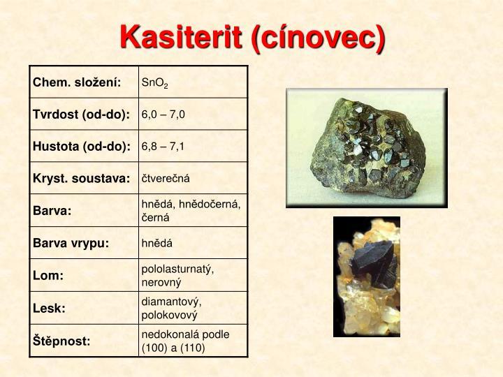 Kasiterit (cínovec)