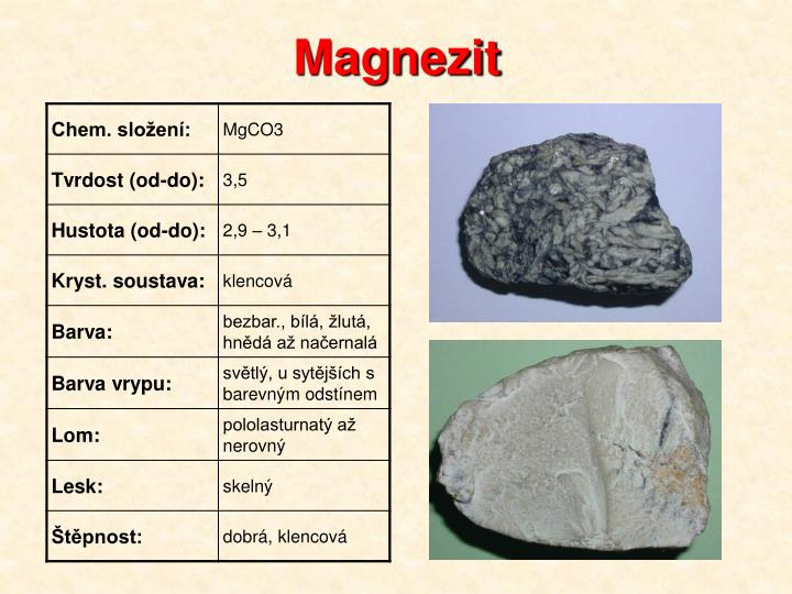 Magnezit