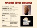 ortoklas ivec draseln
