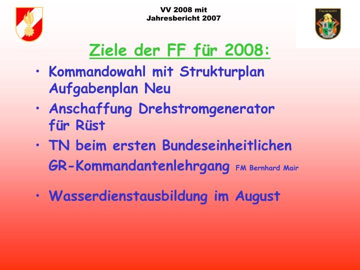 VV 2008 mit