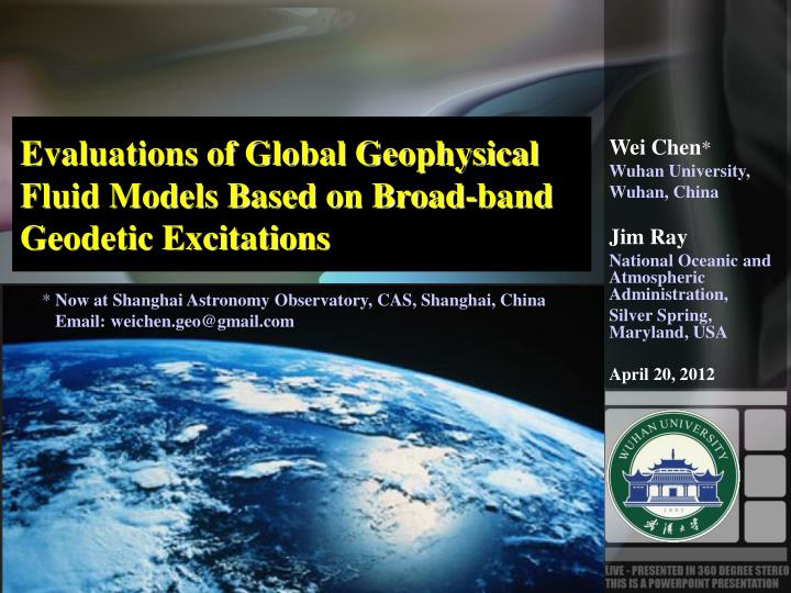 Evaluations of Global Geophysical Fluid Models Based on Broad-band Geodetic Excitations