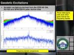 geodetic excitations2