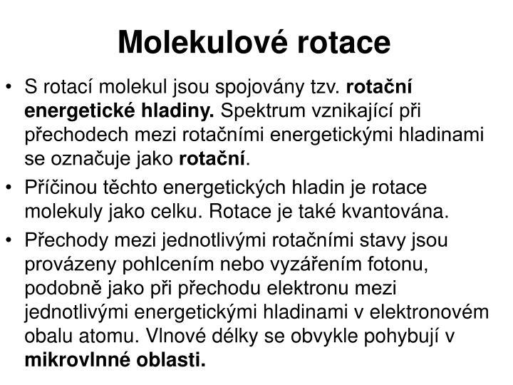 Molekulové rotace