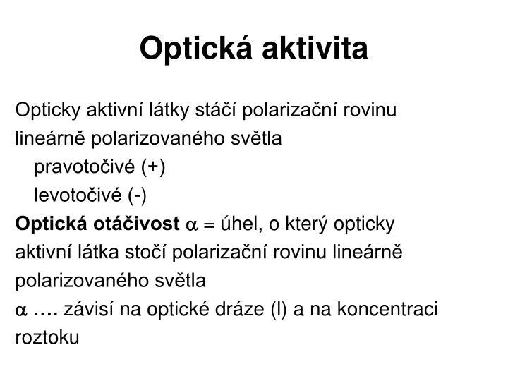 Optická aktivita