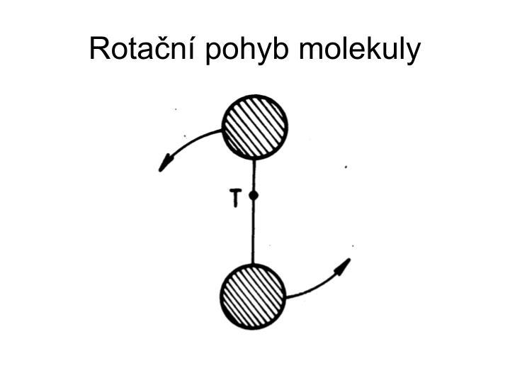 Rotační pohyb molekuly