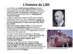l histoire du lsd