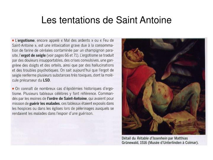 Les tentations de Saint Antoine