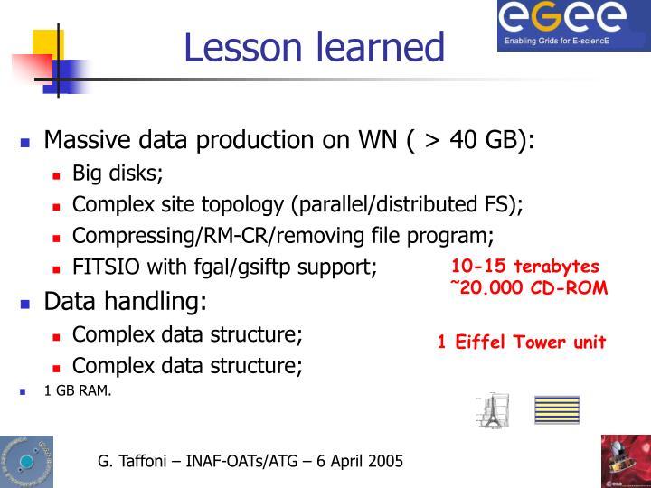 10-15 terabytes