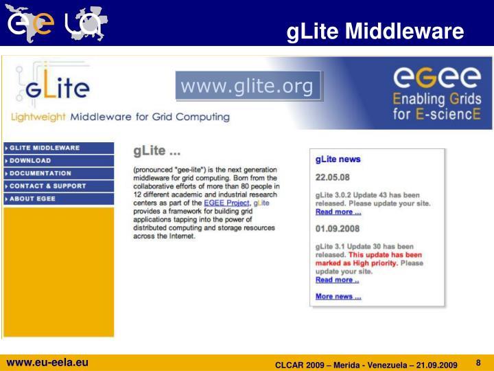 gLite Middleware