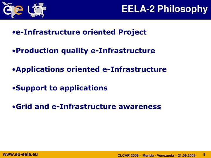 EELA-2 Philosophy