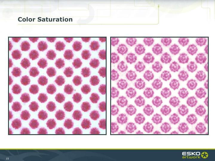 Color Saturation
