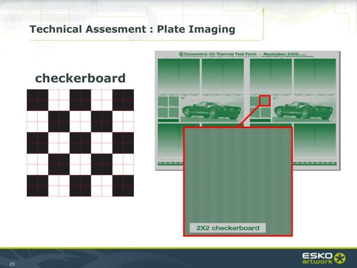 Technical Assesment : Plate Imaging