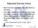 adjusted earned value2