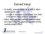 earned value1