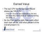 earned value4