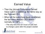 earned value6