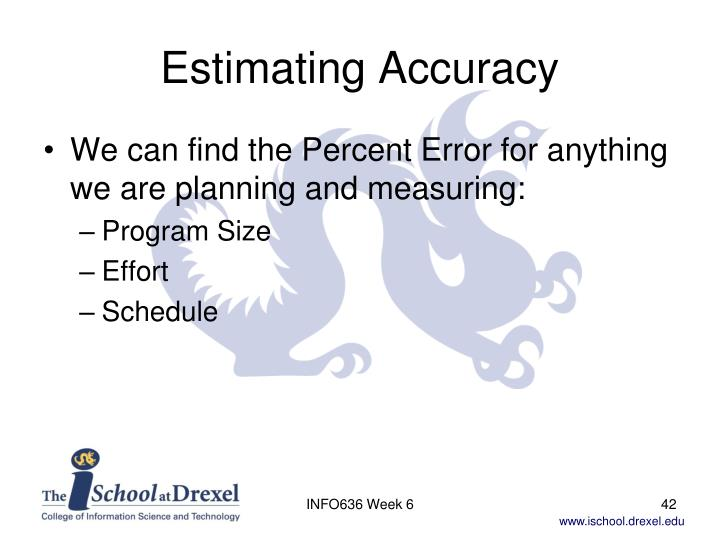 Estimating Accuracy