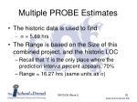 multiple probe estimates3