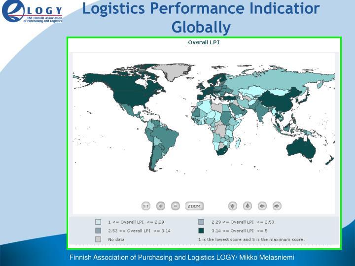 Logistics Performance Indicatior Globally