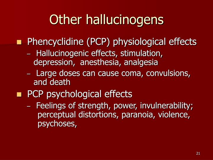 Other hallucinogens