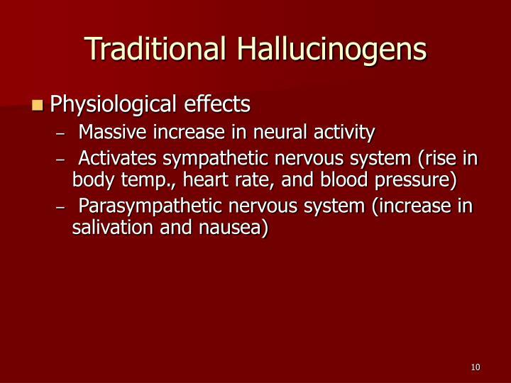Traditional Hallucinogens