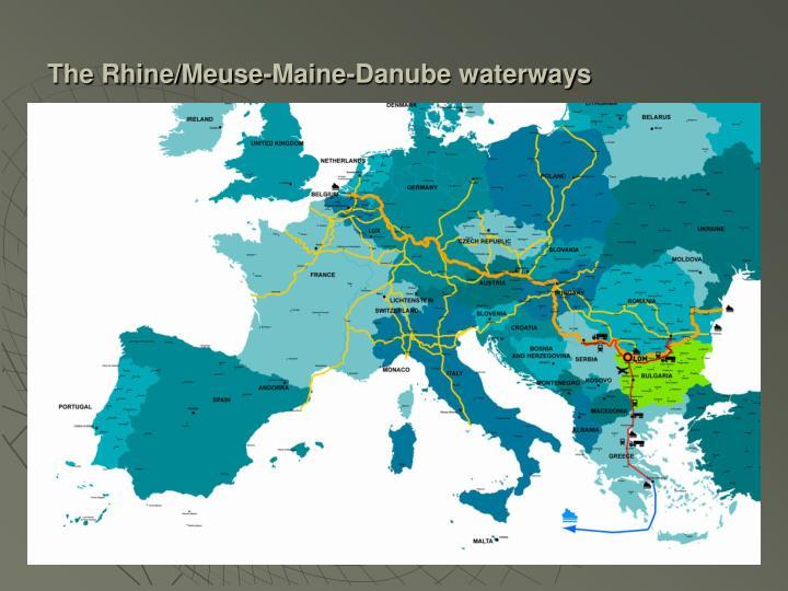 The Rhine/Meuse-Maine-Danube waterways