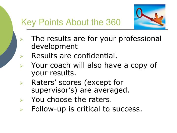 Key Points About the 360