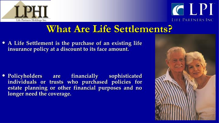 What Are Life Settlements?