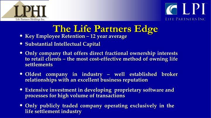 The Life Partners Edge