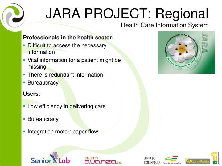 JARA PROJECT: Regional