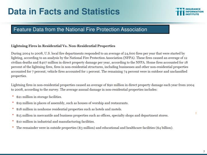 Data in Facts and Statistics