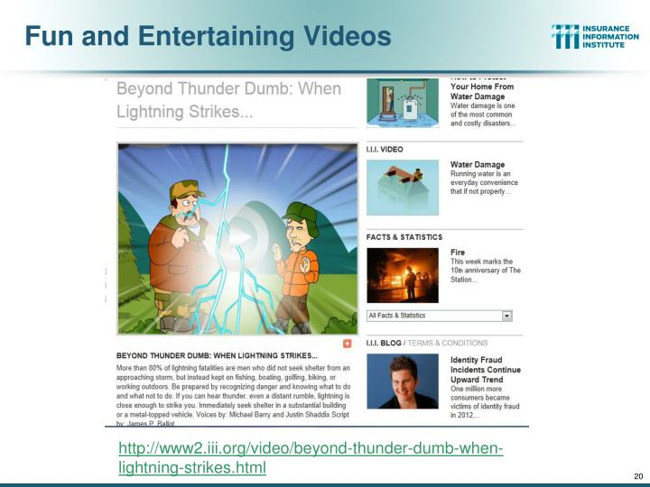 Fun and Entertaining Videos