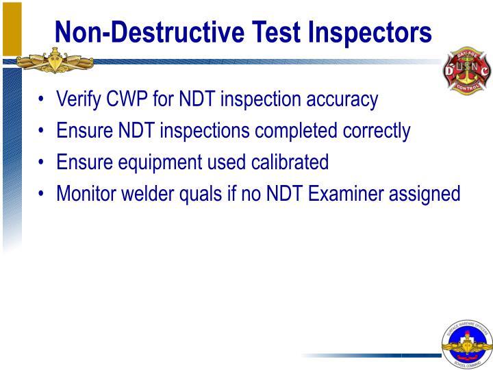 Non Destructive Tester : Ppt quality assurance program powerpoint presentation